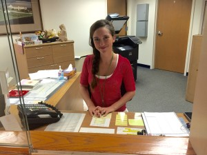Receptionist - Amber-Lee