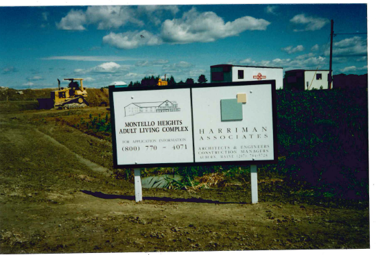 Montello Heights - Construction Sign